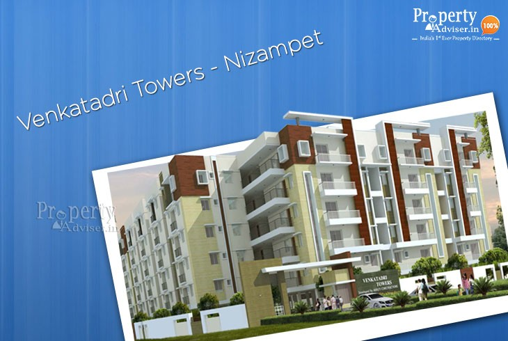 Luxurious Flats for Sale in Nizampet at Venkatadri Towers
