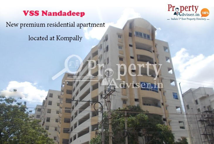VSS Nandadeep: Excellent Apartment at Kompally to Lead a Decent Lifestyle