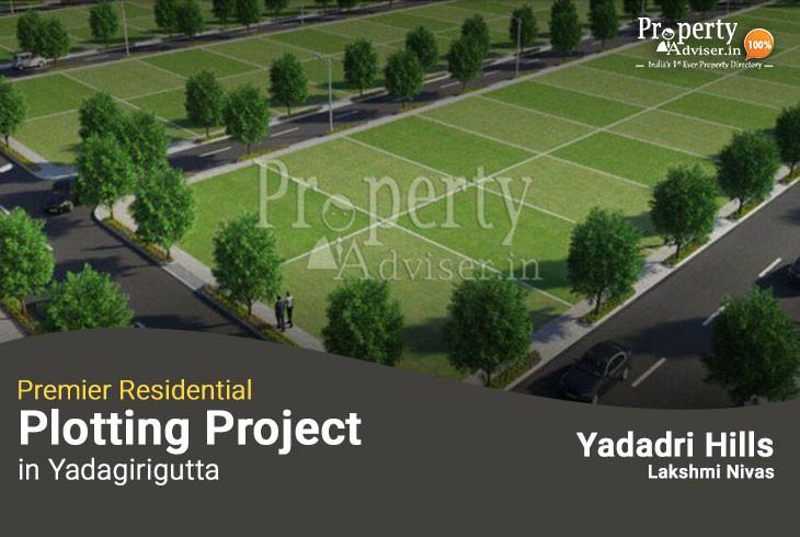 Yadadri Hills Lakshmi Nivas - Premier Residential Plotting Project in Yadagirigutta