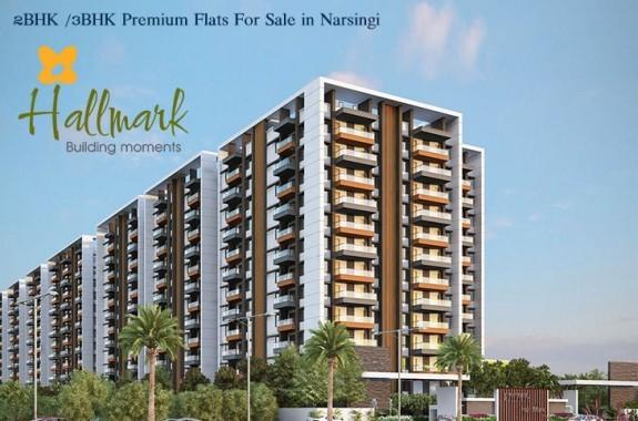 Hallmark Vicinia Premium Flats For Sale in Narsingi