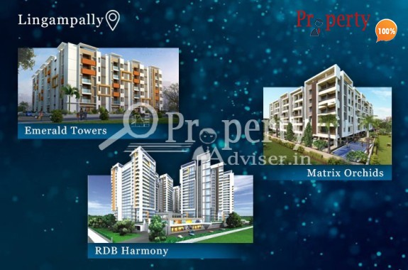 Apartments for Sale at Lingampally with Modern Facilities