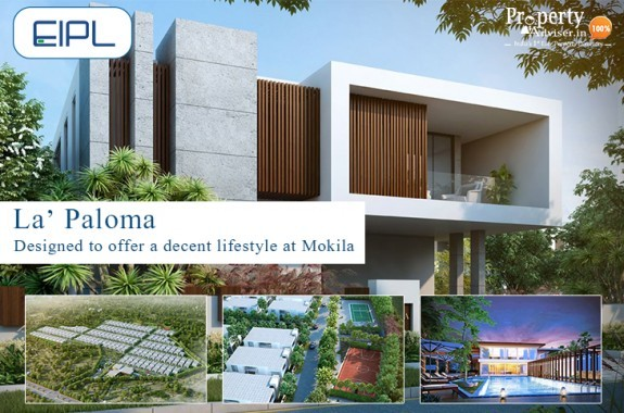 La Paloma Gated Community Villas  in Hyderabad for Sale