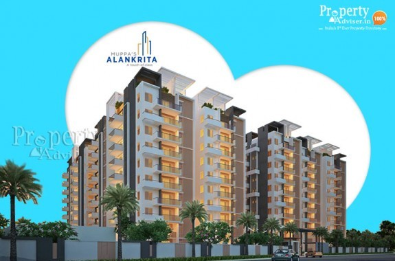 Muppas Alankrita Gated Community Flats in Narsingi
