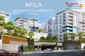 2BHK Flats for Sale at Apila Block A