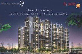 3BHK Flats for Sale at Green Grace Aurora Block Apartment in Nanakramguda