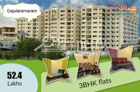 3BHK Premium Flats For Sale at Gajularamaram, Hyderabad