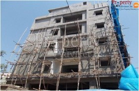 Flats for Sale at Sashidhar Residency with Plastering Work Completion