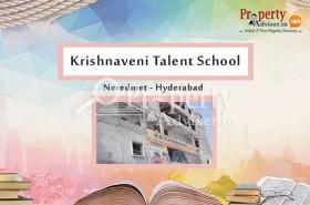 Krishnaveni Talent School Is Coming Soon At Neredmet, Hyderabad