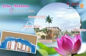Lotus Roldana Apartment at Banjara Hills crafted for your modern lifestyle