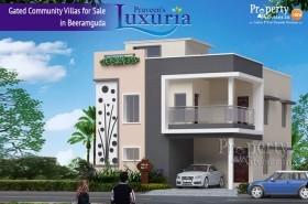 Praveen Luxuria Gated Community Villas for Sale in Beeramguda