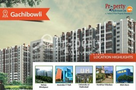 Residential Apartments at Gachibowli for buyers Quality Lifestyle