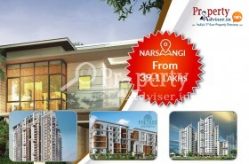 Residential Projects for Sale at Narsingi with Luxurious Facilities