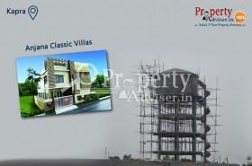 Water Tank Construction is in Progress in Anjana Classic Villas at Kapra
