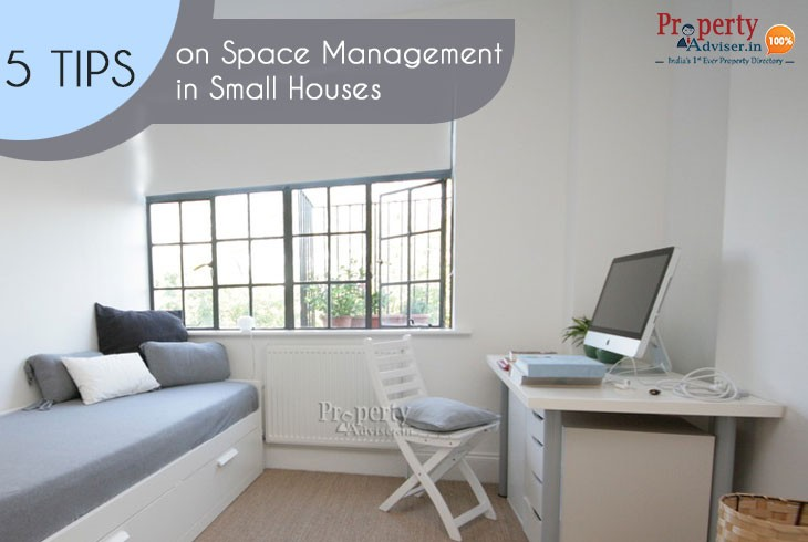 Top Five ideas on Space Management in Small Houses