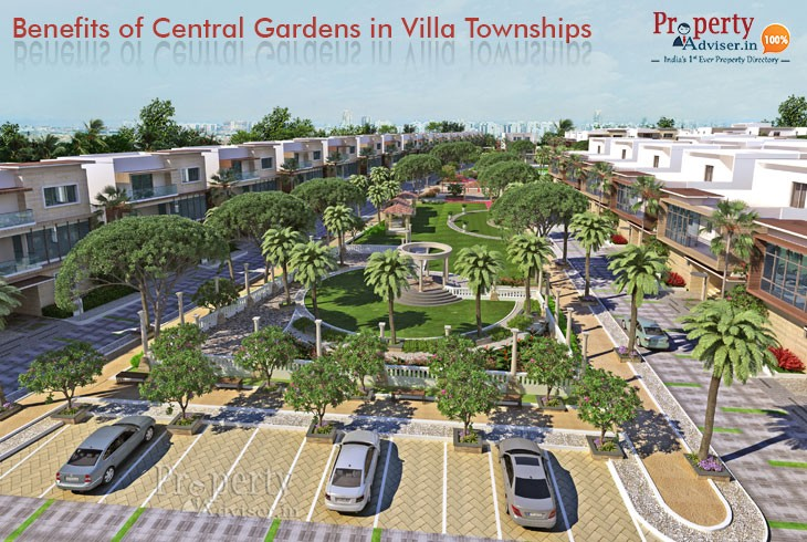 Advantages Of Central Gardens In Hyderabad Gated Communities
