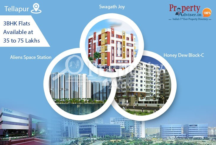 Affordable 3BHK Flats for Sale at Tellapur with Modern Amenities