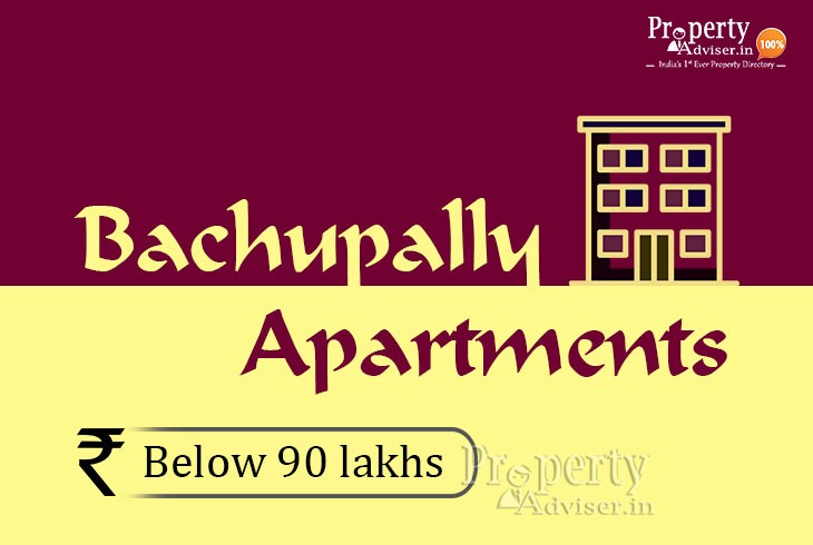 Apartments for Sale in Bachupally Below 90 Lakhs