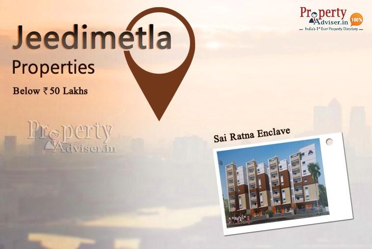 Apartments For Sale In Jeedimetla Below 50 Lakhs