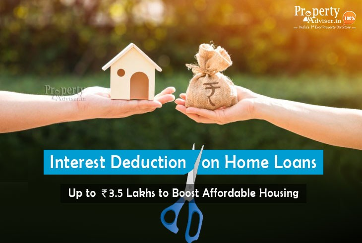 Budget 2019 Update -Interest Deduction on Home Loans to Rs 3 Lakhs