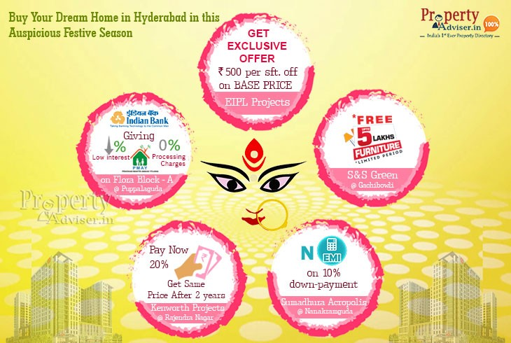 Buy Your Dream Home in Hyderabad in this Auspicious Festive Season