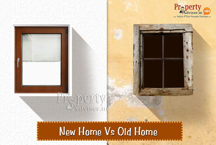 Buying New Homes vs Old Homes in India