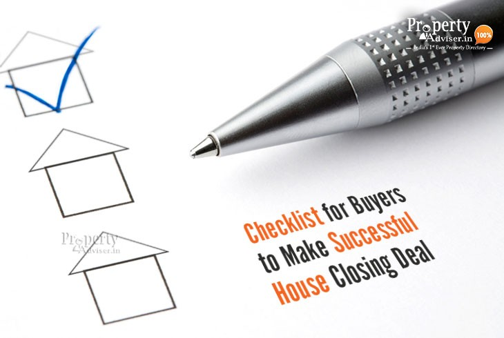 Checklist for Buyers to Make Successful House Closing Deal