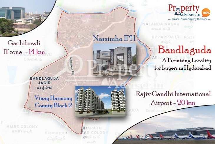 Destination Bandlaguda - A Promising Locality for buyers in Hyderabad
