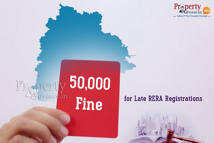 Developers to Pay Rs 50,000 Penalty on Late RERA Registration