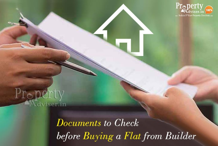 Documents to Check before Buying a Flat from Builder