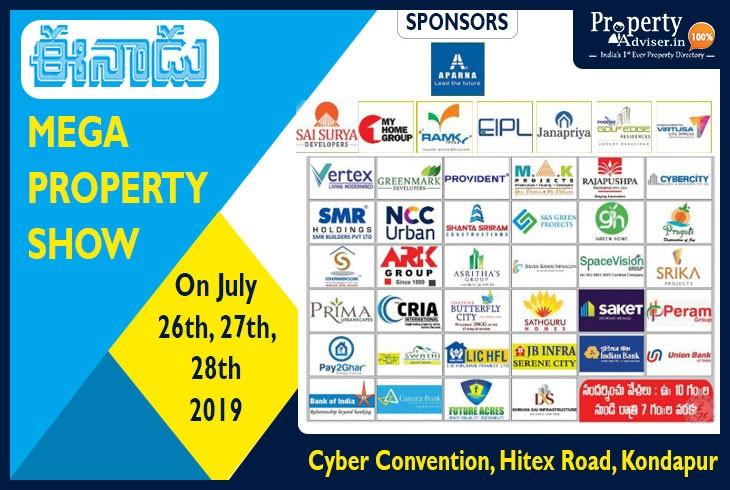 Eenadu Presents Mega Property Show at Hitex, Hyderabad