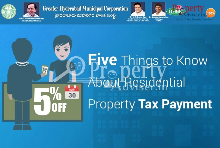 Five Things to Know About Residential Property Tax Payment