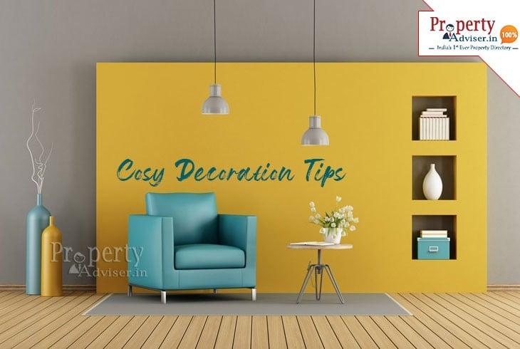 Four Home Interior Decorating Ideas Help You Live a Cosy Life