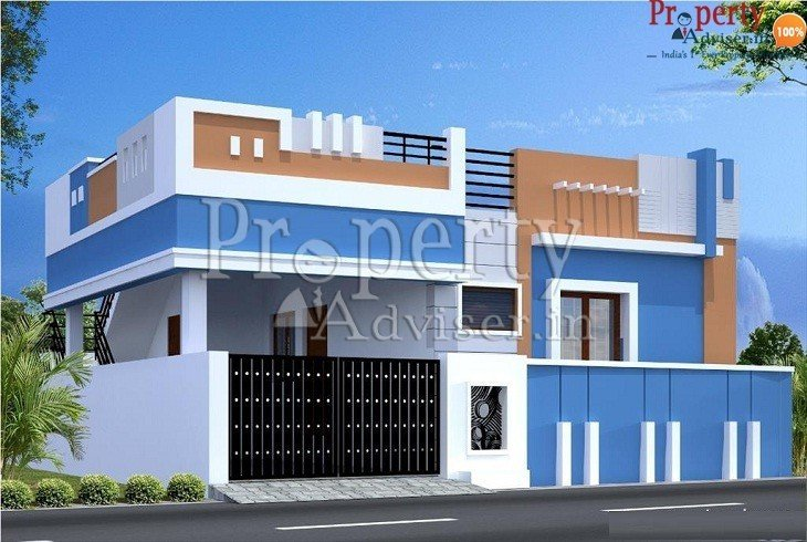 An independent house in a gated community for sale at Beeramguda Hyderabad