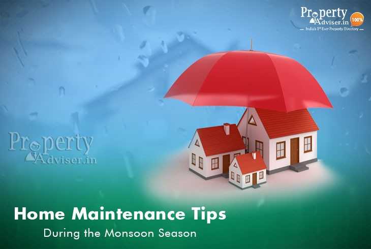 Home Maintenance Tips during the Monsoon Season