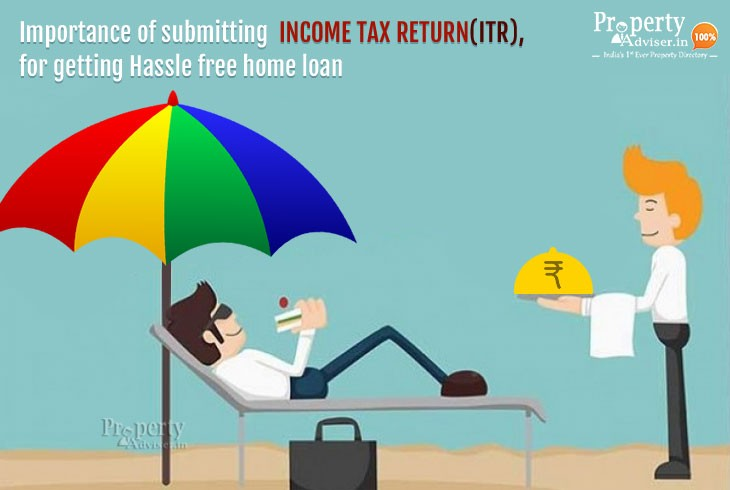 Importance of submitting Income Tax Return (ITR), for getting Hassle free home loan