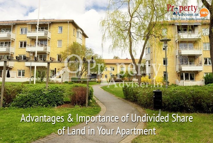 Undivided Share of Land in Apartment