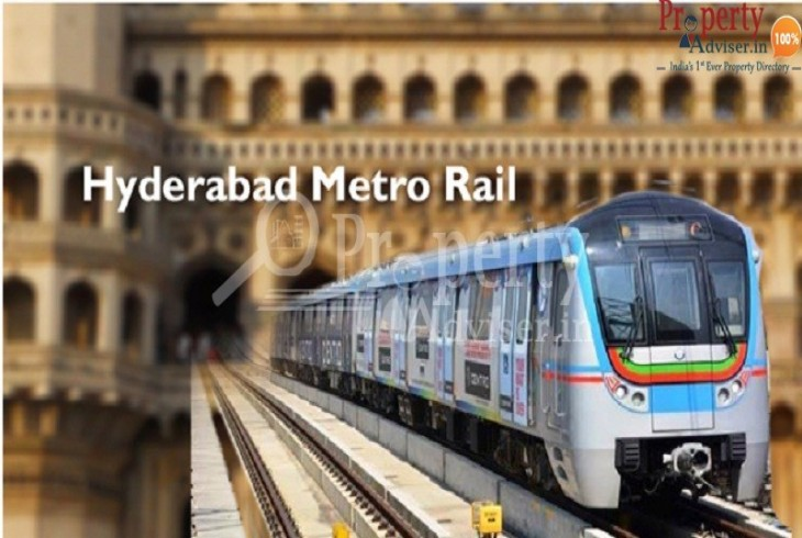 Know the advantages of the hyderabad metro to acquire a property in