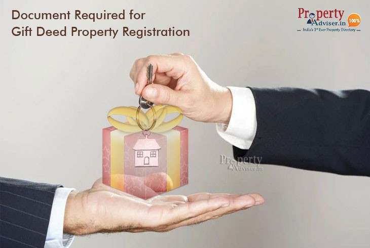Know about Document Required for Gift Deed In A Simple Procedure