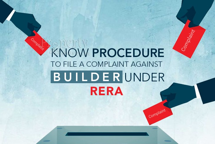 Know the procedure to file a complaint against builder Under RERA