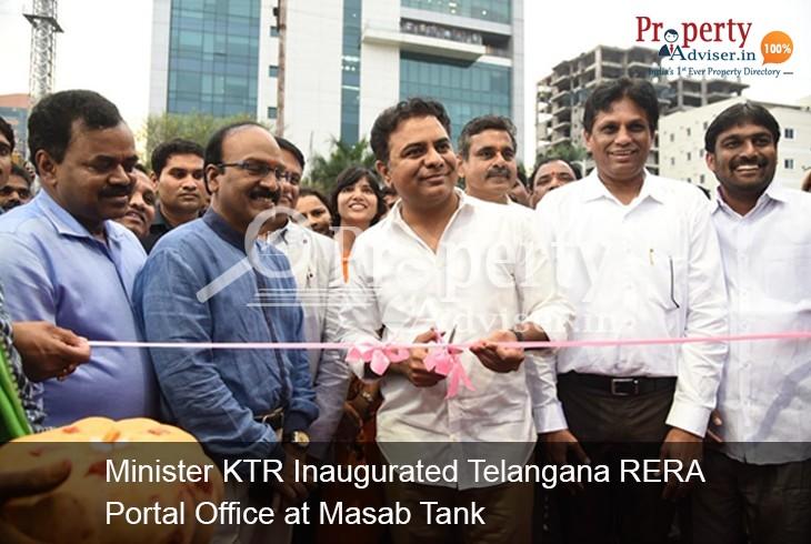 Telangana RERA Portal Inaugurated by Minister KTR