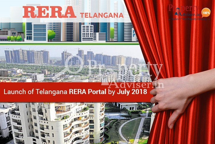 Municipal Administration is planning to Launch Telangana RERA Portal by July 2018