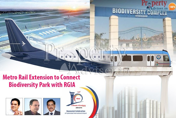 Metro Rail Extension to Connect Biodiversity Park with RGIA