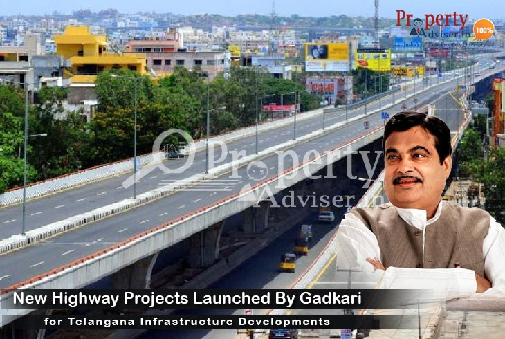 Mr. Nitin Gadkari Launches New Highway Projects in Telangana