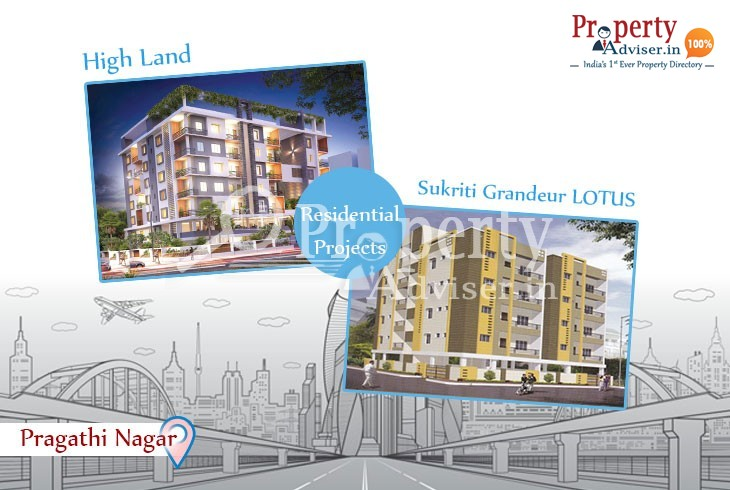 New Apartments for Sale at Pragathi Nagar with Good Infrastructure