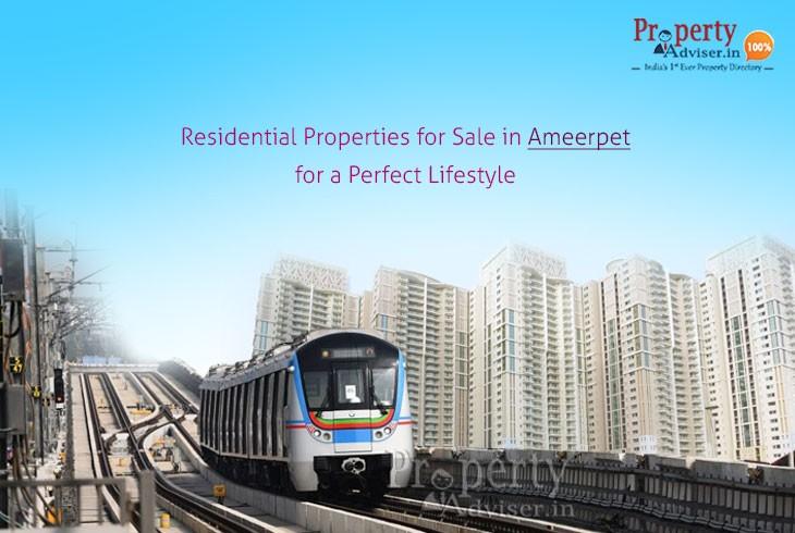Residential Properties for sale in Ameerpet
