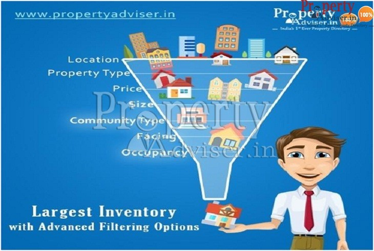 Property Adviser Filter Page Choose your dream home in Hyderabad