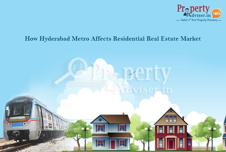 Real Estate Market in Hyderabad benefitting with Hyderabad Metro