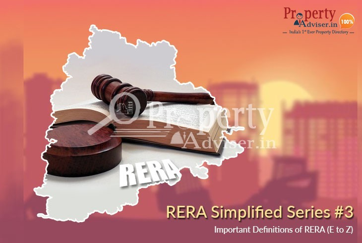 RERA Simplified Series #3: Important Definitions of RERA (E to Z)