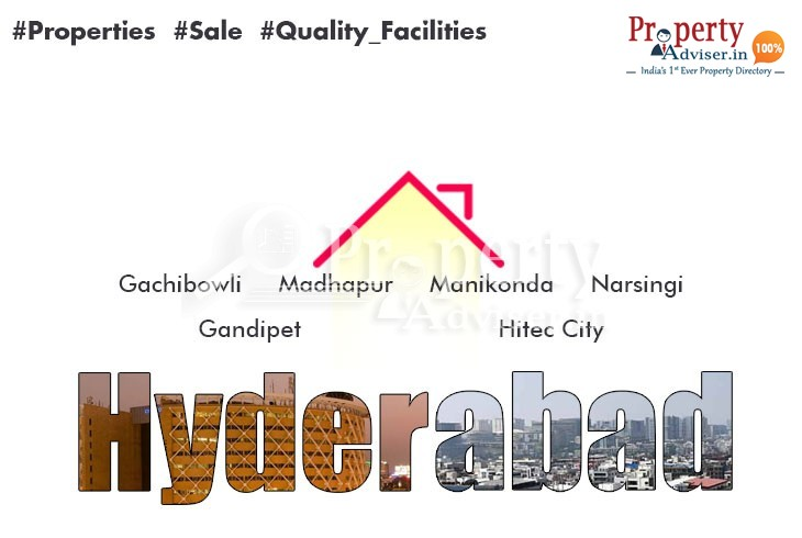 Residential Properties for Sale in Hyderabad West Zone