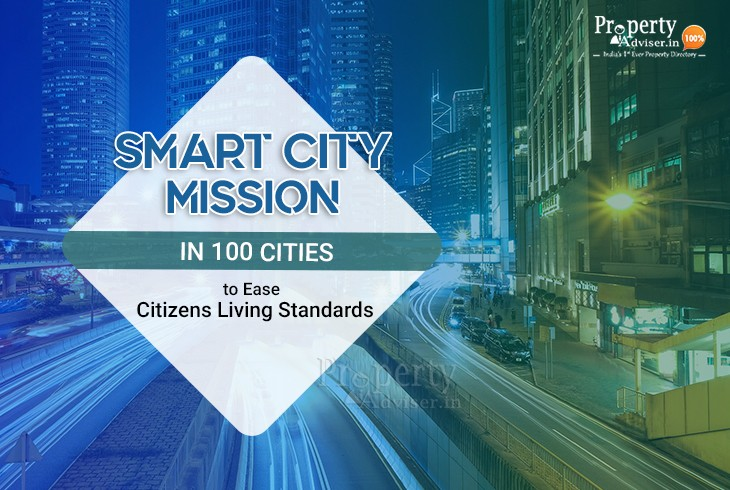 Smart City Mission in 100 Cities to Ease Citizens Living Standards